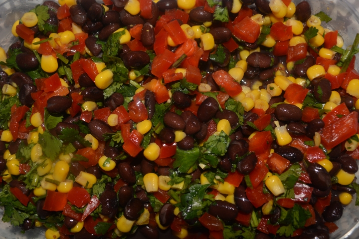 Food & Drink | Black Bean Salsa